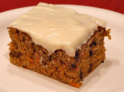 Carrot Pound Cake Recipe